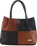 Calvino Shoulder Bag (Brown, Black)