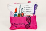 Carry on Bags Tote (Pink)
