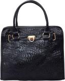 Lychee Bags Satchel (Black)