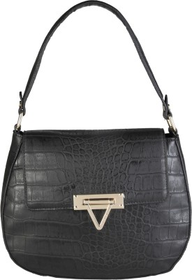 MARIO VALENTINO Hand-held Bag(Black) at flipkart