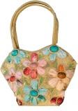 Kmu Traders Hand-held Bag (Beige, Multic...