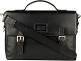 Hidesign Messenger Bag (Black, Brown)