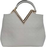 BK Black Hand-held Bag (White)