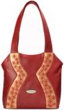DHC Shoulder Bag (Red, Gold)