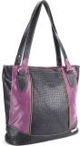 Murcia Hand-held Bag (Black, Purple)