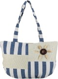 iSweven Shoulder Bag (Blue, Beige)