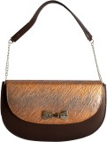 Demure Shoulder Bag (Brown)