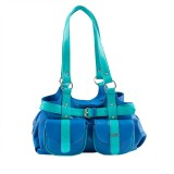 Lady World Shoulder Bag (Green, Blue)