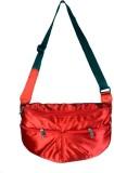 Rambler Messenger Bag (Red)