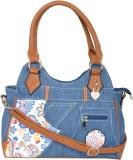 Violet Hand-held Bag (Blue)