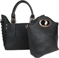 Saffron Craft Hand-held Bag(Black)