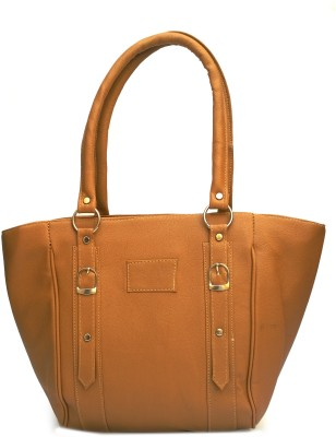 Zedge Hand-held Bag(Saddle Brown)