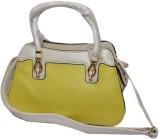 Manni Hand-held Bag (White, Green)