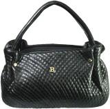 Silver Rose Hand-held Bag (Black)