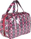 Needlecrest Hand-held Bag (Pink, Black)