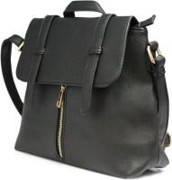 Fab Fashion Hand-held Bag(Black)