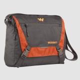 Wildcraft Messenger Bag (Grey, Orange)