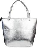 Do Bhai Hand-held Bag (Silver)