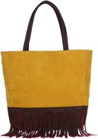 Pretty Things Tote(Yellow, Brown)