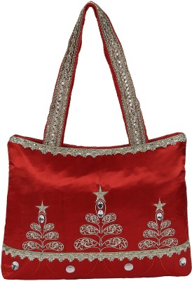Gold Zari House Shoulder Bag