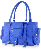 Zircons Shoulder Bag (Blue)