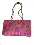 Angelquilts Hand-held Bag (Pink)