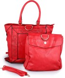 Glam Attires Hand-held Bag (Red)