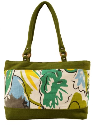 Shilpkart Hand-held Bag(Green)