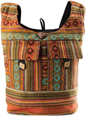 Great Art Women Multicolor Jute Sling Bag