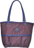 Black & Yellow Shoulder Bag (Purple)