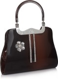 Jewel Fuel Hand-held Bag (Brown)