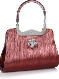 Jewel Fuel Hand-held Bag (Maroon)