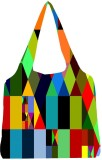 Snoogg Tote (Multicolor)