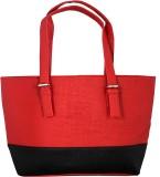 Esskay Hand-held Bag (Red, Black)