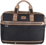 Da Milano Messenger Bag (Black)