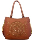 Lady Queen Shoulder Bag (Tan)