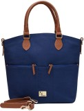 Rivet Hand-held Bag (Blue)