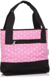 Home Heart Hand-held Bag (Pink, Black)