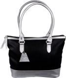 Uni Carress Shoulder Bag (Black, Silver)