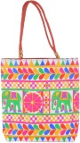 Kwickdeal Tote (Red, Multicolor)