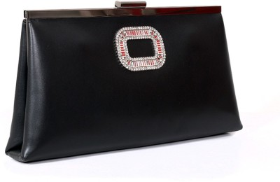 Carry on Bags Women Casual, Party Black  Clutch