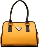 Fostelo Hand-held Bag (Black, Yellow)