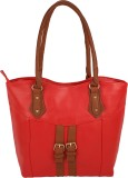 Satchel Shoulder Bag (Red)