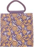 Jute Cottage Hand-held Bag (Purple)