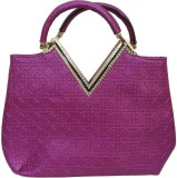 BK Black Hand-held Bag (Pink)