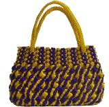 Rosy Hand-held Bag (Multicolor)