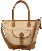 Angesbags Hand-held Bag(Beige)