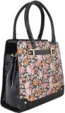 Gouri Bags Hand-held Bag (Black, Multico...