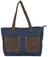 Skyline Messenger Bag(Blue, Brown)