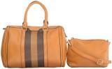 Home Union Hand-held Bag (Beige)